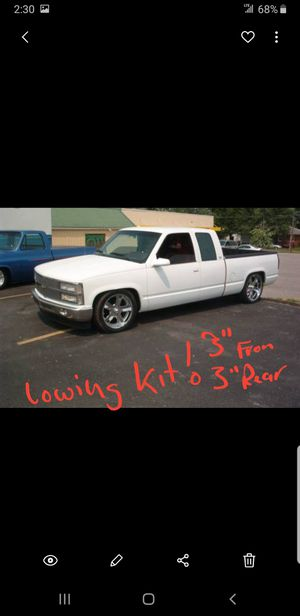 lowering kit 88-98 chevy / gmc 1500 truck!! for Sale in Lynchburg, VA