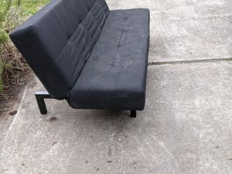 Free Small Black Futon for Sale in Bellevue,  WA