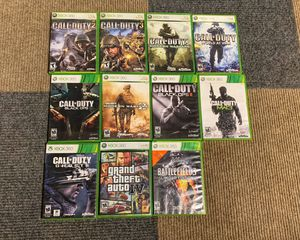 Xbox 360 Call of Duty Games Bundle (backwards compatible w/ Xbox One) for Sale in Belleville, IL