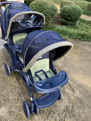 Graco double stroller. VERY CLEAN! for Sale in Lexington, SC