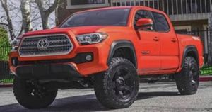 """17"""" Toyota Tacoma Wheels & Tires Package ✅17"""" XD 134 Addict 2 Wheels Rims ✅RBP Mud Terrain Tires 285/70R17 ✅Package Includes Leveling Kit Matte Bla for Sale in La Habra Heights, CA"""