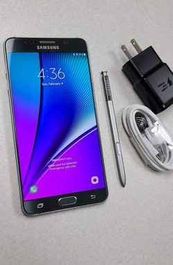 SAMSUNG Galaxy Note 5,, Unlocked, Excellent condition, Works any Company Sim,Any Country. for Sale in Springfield,  VA