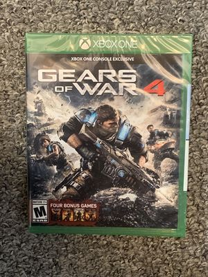 BRAND NEW SEALED XBOX ONE VIDEO GAME - GEARS OF WAR 4 WITH BONUS GAMES for Sale in Appleton, WI