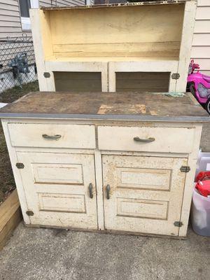 Antique Hutch Cabinet for Sale in Hamilton Township, NJ