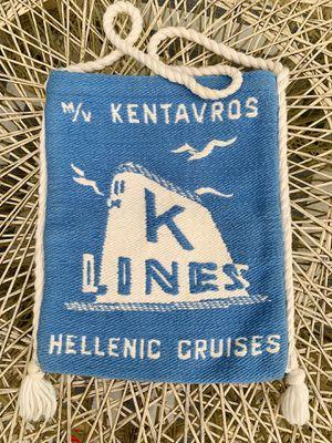 Old vintage K Lines Cruise bag for Sale in Graham, WA
