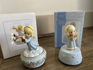 Lot of 2 musical precious moments collectibles for Sale in Austin, TX