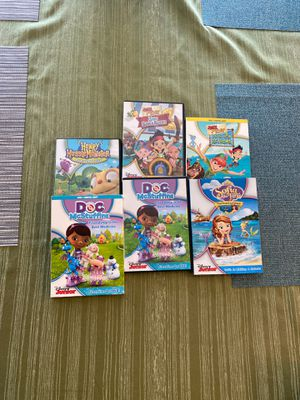 6 Disney Jr show DVDs for Sale in Puyallup, WA
