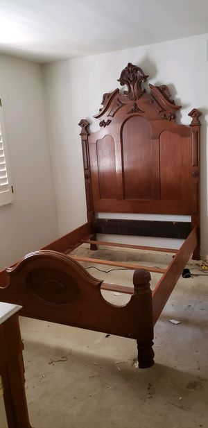 Antique Full Size Bed 🌈 Another Time Around Furniture 2811 E. Bell Rd for Sale in Phoenix, AZ