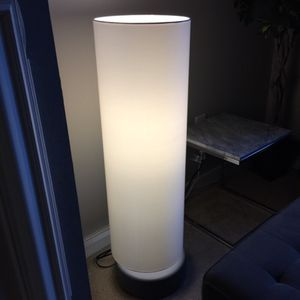 Modern Caste Base White Floor Lamp by CB2 for Sale in North Bethesda, MD