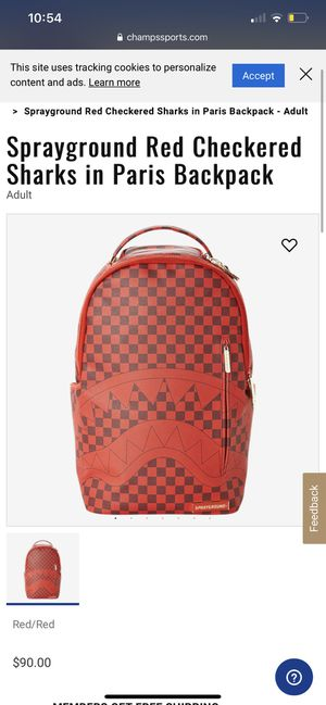 Spraygrounds Backpack Leather Red for Sale in Los Angeles, CA