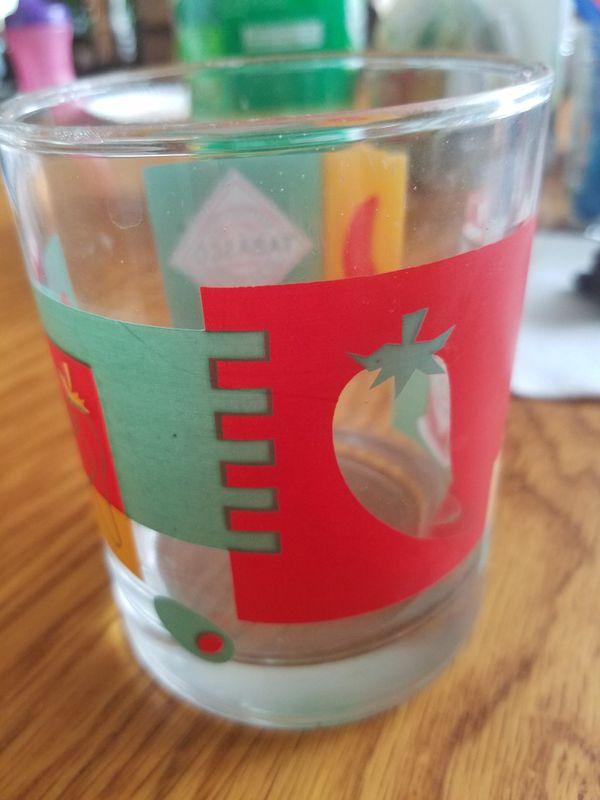 Tabasco glass collectible