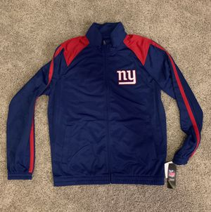 New NFL New York Giants Track Jacket (Large) for Sale in Irving, TX