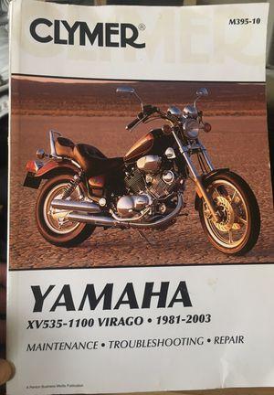 Yamaha Motorcycle Virago Manual for Sale in Denver, CO