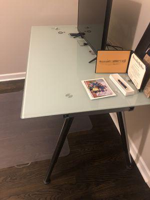 Glass Desk for Sale in Glenview, IL