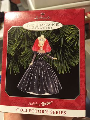 Hallmark Mattel Holiday Barbie ornament 1998 for Sale in Murrysville, PA