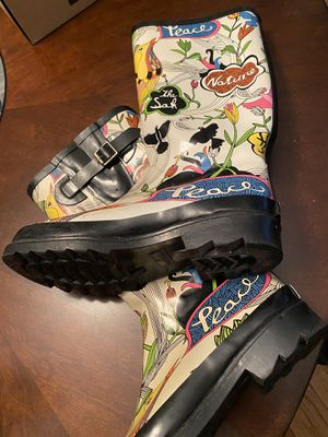 Rain boots size 8.5 for Sale in Norfolk, VA