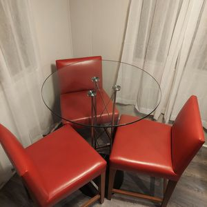 Table With Stool Chairs for Sale in Buena Park, CA