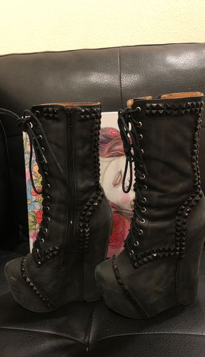 Jeffery Campbell boots for Sale in Rosemead, CA