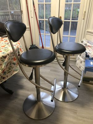 High quality leather seat stainless steel bar stools for Sale in Pepper Pike, OH