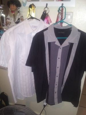 2- Men's Dress Shirts for Sale in Long Beach, CA