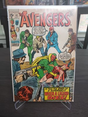 Avengers #81 (Death of Scarlett Witch) for Sale in Hyattsville, MD
