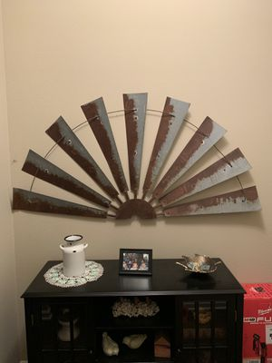 Metal Windmill Wall Decor for Sale in Smyrna, TN