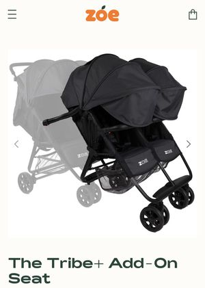 Zoe Stroller Double add on Seats (Attachment for Quad) for Sale in Tampa, FL