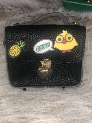 Cute Cartoon Chain Crossbody Bag - Black for Sale in Philadelphia, PA