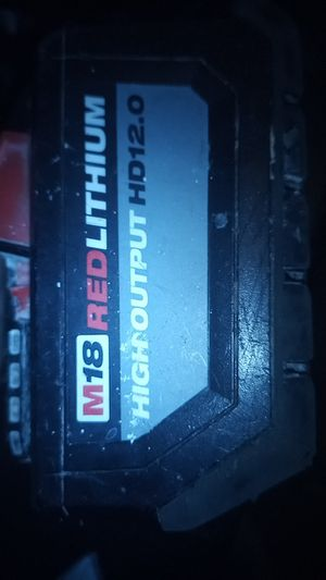 Milwaukee 18v 12.0 HD for Sale in Louisville, KY