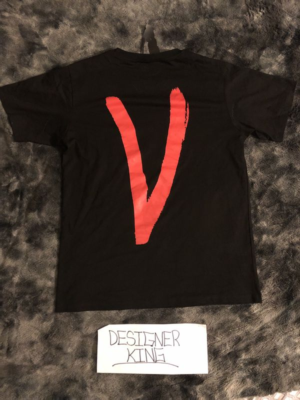 Vlone Black And Red Love Shirt
