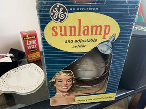GE Antique Sun lamp for Sale in Orland Park, IL