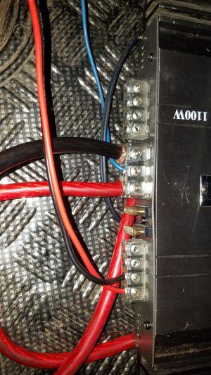 Kenwood Amplifier 1,100w for Sale in Fontana, CA