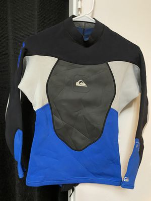 Quicksilver Wetsuit Top, Rash guard, Wetsuit Jacket for Sale in Los Angeles, CA