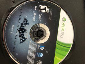 Batman: Arkham Origins (Xbox 360) Delisted on Xbox Store! Rare game! for Sale in Dallas, TX