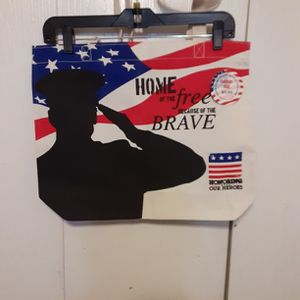 Patriotic Canvas Bag for Sale in Hilliard, OH