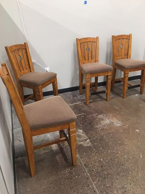 Set of 4 bar stools for Sale in Apache Junction, AZ