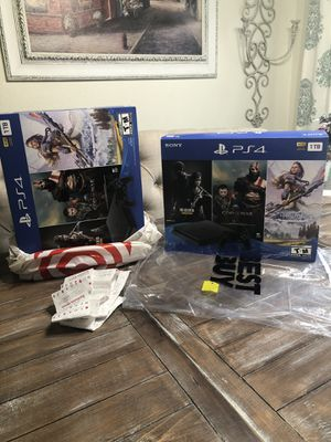 Brand New PlayStation 4 Slim 1TB 3 Game Bundle! for Sale in Fresno, CA