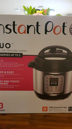 Instant Pot Pressure Cooker for Sale in Cabot, AR