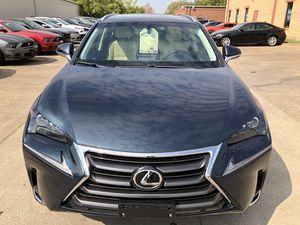 2015 Lexus NX 200t Clean Title Leather seats push button start backup camera with line assist Low Miles for Sale in Dallas, TX