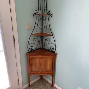 Cute Corner Rack/shelf for Sale in Leander, TX