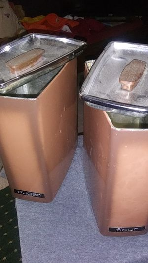 VINTAGE CANISTERS for Sale in Fresno, CA