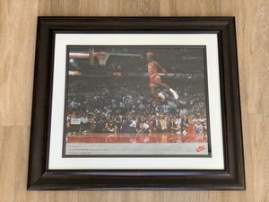 Michael Jordan Free Throw Line Nike 16x20 Poster (1992) for Sale in Westminster, CO