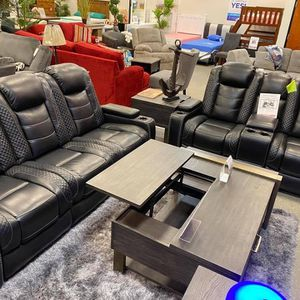 Power Reclining Sofa And Love Seat $1 Down No Credit Check Financing for Sale in Massapequa, NY