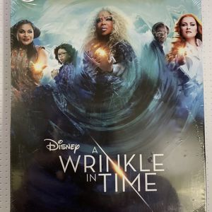 Disney's A Wrinkle In Time Blu Ray Steelbook Edition BRAND NEW SEALED for Sale in Anaheim, CA