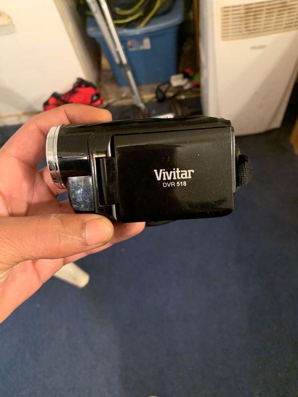 Used vivitar DVR 518