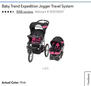 Jogging stroller an car seat for Sale in Wildomar, CA