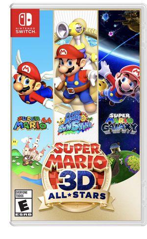 Super Mario 3D all stars for Sale in Claremont, CA