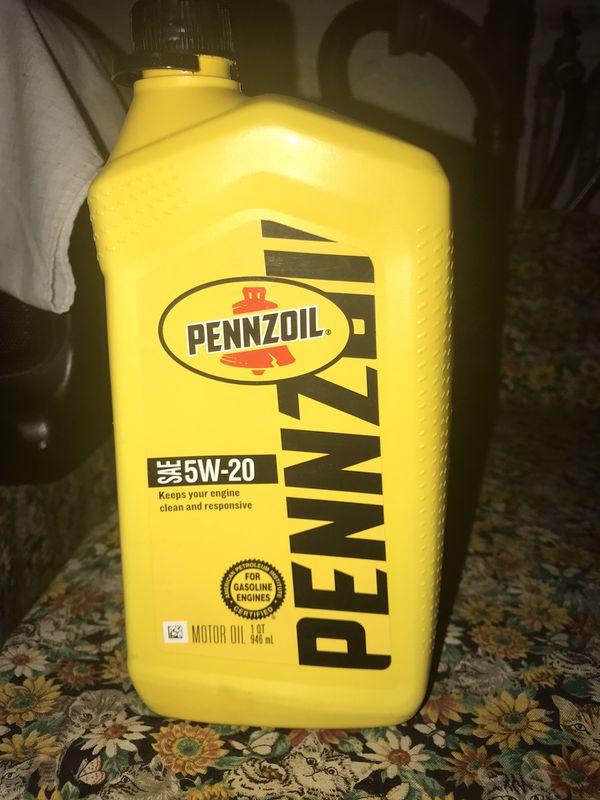 11 oz of pennzoil 5w-20 oil