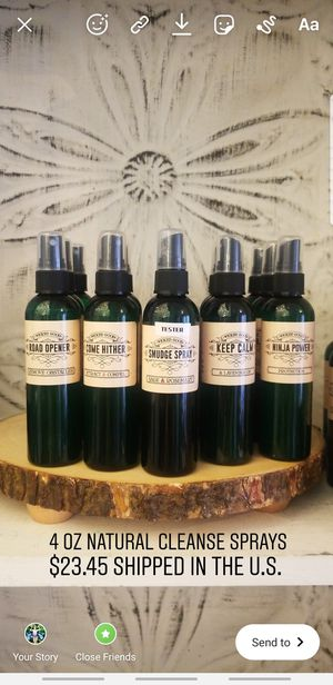 Limpia / Cleanse Sprays with natural essential oils for Sale in Cutler Bay, FL