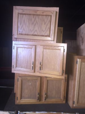 Kitchen cabinets -wall for Sale in Cleveland, OH